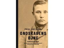 Omslaget af bogen Ondskabens Øjne. Gads Forlag 2016.