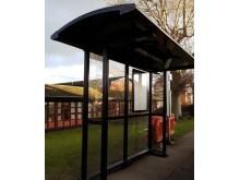 Väderskydd UK Light, 2-sektionare med smala gavlar. Surrey, England