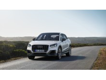 Audi SQ2 (gletscherhvid) statisk forfra