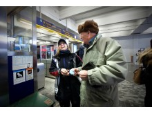 Kundservice i tunnelbanan