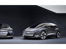 Audi AI:ME - eldriven självkörande citybil