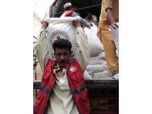 Pakistanska Röda Halvmånens insatser