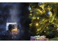 Trekk ut støpselet på juletrebelysning om natten