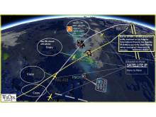 Hi-res image - Cobham SATCOM - WxOps satellite enabled dispatcher & plane to plane communications network
