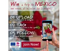Vinn en resa till Mexico!