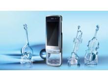 Mobil med kristallklar design från LG Electronics