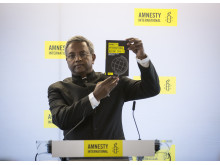 Salil Shetty, generalsekreterare Amnesty International.