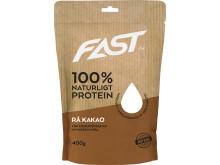 Naturligt Nordiskt Vassleprotein - Rå Kakao 400g