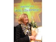 Birgitta Trolin, vinnare av  Sveriges innovativa skolledarpris 2013