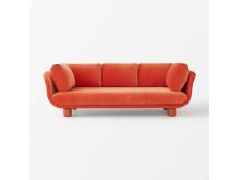Svenskt_Tenn_Sofa_Famna_2020_3_Seater_Velvet_Orange_1