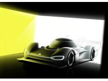 ID. R drivs av två elmotorer med en systemkapacitet på 680 hk.
