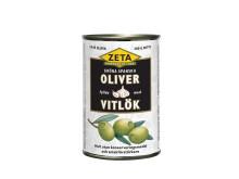 Zeta fyllda spanska oliver med vitlök