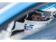 Richard Göransson har blicken mot STCC-titeln