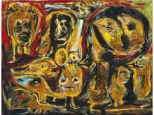 Asger Jorn: Fantasi dyr, 1952.