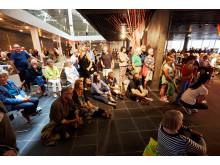 Gemensamma ytan Living room i Malmö Live under premiärhelgen den 30 augusti 2015. Foto: Christiaan Dirksen