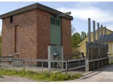 Vattenkraftstationen i Gästrike-Hammarby
