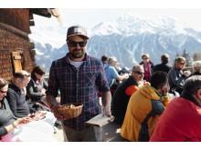 Gian Malaers auf der Alp Fops