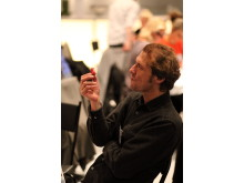 SM i Mathantverk 2011, juryordförande i charkjury 1, Jürgen Körber från Tyskland