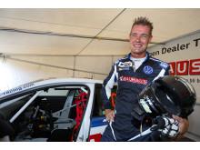 Fredrik Ekblom, Volkswagen Dealer Team. Foto: Tony Welam/STCC