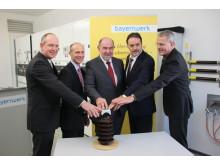 Offizielle Inbetriebnahme des Schalthauses Velburg: