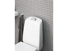 Nautic WC med förhöjd spolknapp - ergonomisk och godkänd av Reumatikerförbundet