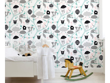 Forest Turquoise - Cecilia Lood - Photowall