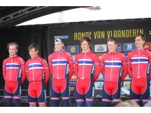 U23 landslaget under Flandern Rundt