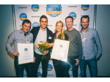Kriminalvården, vinnare i kategori Bästa webb offentlig sektor, EPiServerAwards 2014