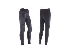 Pattern Mid-Rise Compression Tights