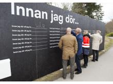 Drömplank och första spadtag i Kallhällsparken