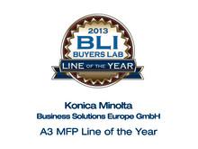 Konica Minolta vinner BLIs Line of the Year-pris for tredje år på rad