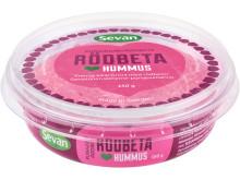 Hummus rödbeta_snett uppifrån