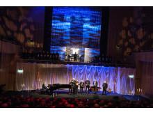 Benny Andersson uruppför sitt verk specialskrivet för Luleå tekniska universitets nya orgel
