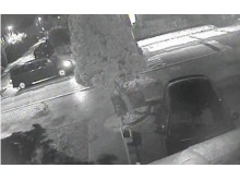 CCTV of black van police wish to trace