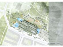 Förslag på Hyllies nya badanläggning visas på utställning - Waves