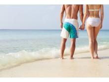 Par på stranden (Foto: Colourbox)