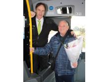 Nytt rekord för bussresandet i Falkenberg