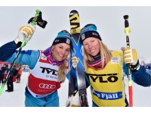 Anna Holmlund och Sandra Näslund