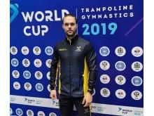 Världscup i trampolin, Oscar Smith
