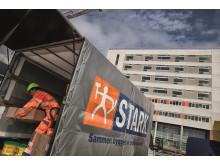 STARK på byggepladsen ved DNU