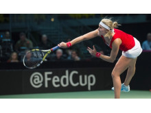 Fed Cup till Helsingborg Arena. Foto: Graham Hughes/THE CANADIAN PRESS