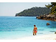 Til sommer kan danskerne igen bade ved de smukke strande på Thassos.