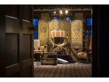 Inventarier på Tjolöholms Slott, inköpta på Liberty i London.