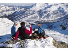"""Die Bergwelt Hemsedals gilt als """"die Alpen Skandinaviens"""", die Abfahrten sind bis zu sechs Kilometer lang."""