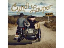 """Cindy Lauper // Cover art """"Detour"""""""