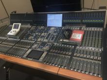 Mixerbord på Kungl. Musikhögskolan (KMH)