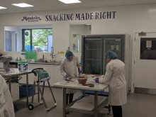 Mondelez Scientists working in our new Ingredient Research space in Reading