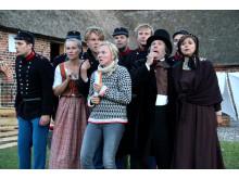 """Alle på scenen - """"1864 - den sande historie"""" på Frilandsmuseet"""