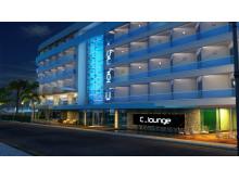 Sunprime C-Lounge er et nybygget All Inclusive-hotel beliggende ved stranden lige uden for Oba i udkanten af Alanya.