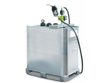 Dubbelmantlad tank godkänd för förvaring av olja och diesel